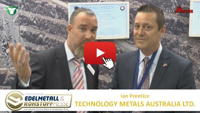 CEO-Roaster TMT Technology Metals Australia Ltd Prescous Metals Convention Munich 2017 Ian Prentice Michael Adams thumb 400×225 tmt