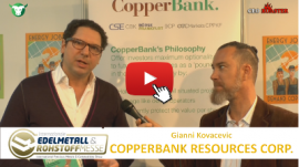 Stock-Telegraph CBK CopperBank Resources Corp Edelmetallmesse 2017 Gianni Kovacevic Michael Adams Thumb 400×224