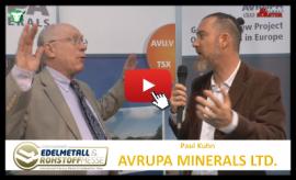 Thumb_400x224_AVU Avrupa Minerals Ltd Precious Metals Convention Munich 2017 Paul Kuhn Michael Adams