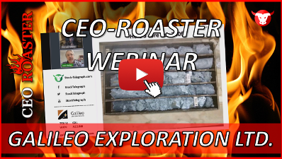 CEO-Roaster GXL Galileo Exploration Ronald Rieder Michael Adams 400×225